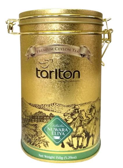 Листовий чорний чай BOP1 Тарлтон Ува 150 г в жерстяній банці