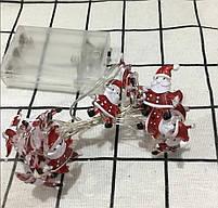 Новорічна гірлянда у стилі Санта Клауса, фото 4