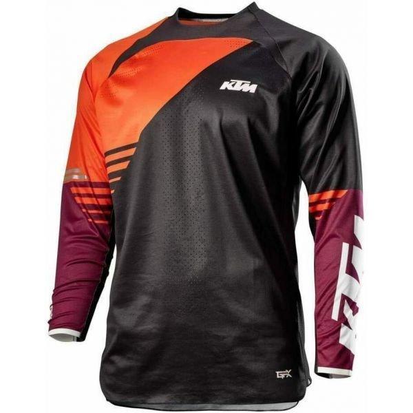 Кофта (сорочка) для їзди на мотоциклі KTM Gravity-FX, чорна Розмір: S
