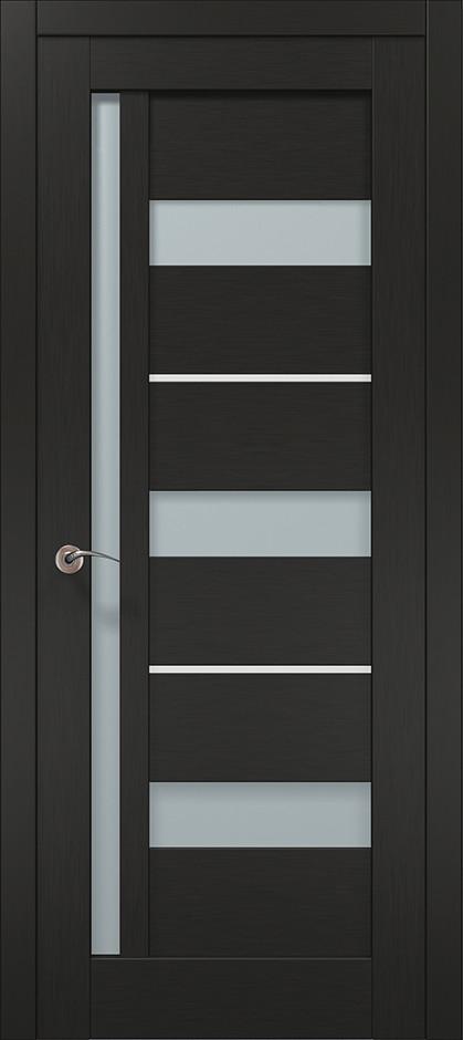 Двері Папа Карло, Полотно+коробка+ 1к-т наличників, Millenium, модель ML-47 AL