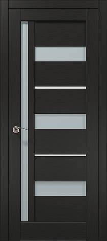 Двері Папа Карло, Полотно+коробка+ 1к-т наличників, Millenium, модель ML-47 AL, фото 2