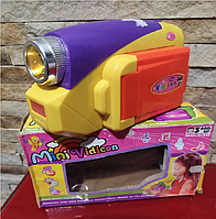 Камера дитяча. Mini Vidicon гра, іграшка для дітей, техніка
