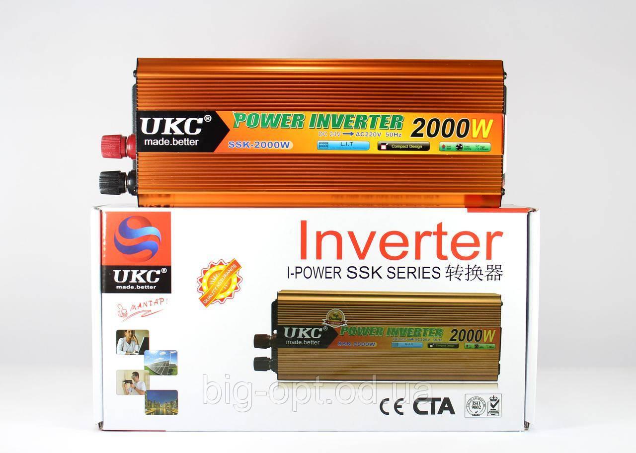 Перетворювач AC/DC SSK 2000W 24V