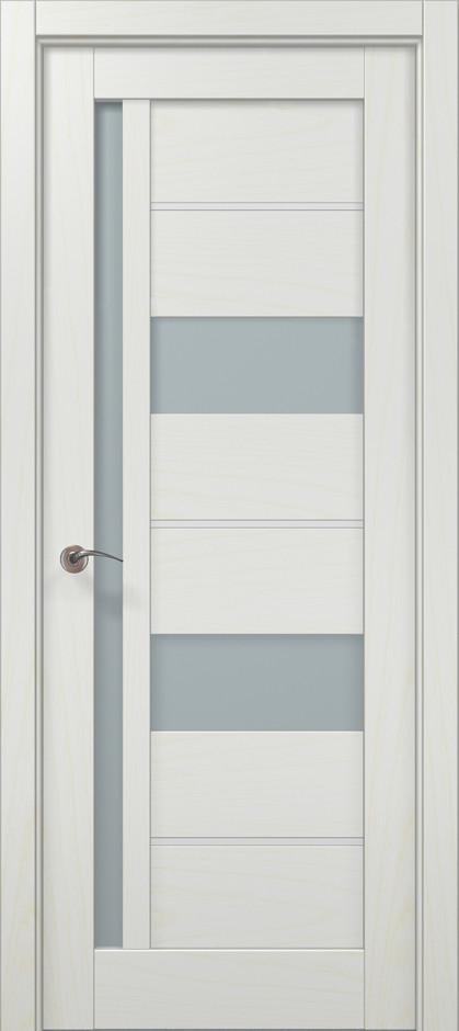 Двері Папа Карло, Полотно+коробка+ 2к-та лиштв+добір 100мм, Millenium, модель ML-49 AL