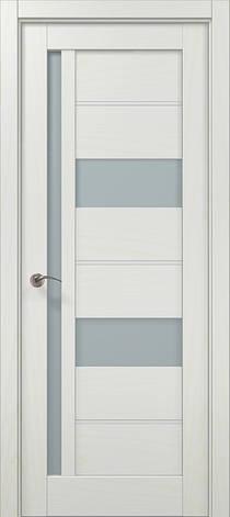 Двері Папа Карло, Полотно+коробка+ 2к-та лиштв+добір 100мм, Millenium, модель ML-49 AL, фото 2