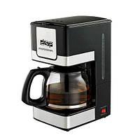 Кофеварка капельная кофемашина DSP Kafe Filter черная KA-3024