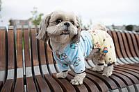 Махровый комбинезон для собак Метис