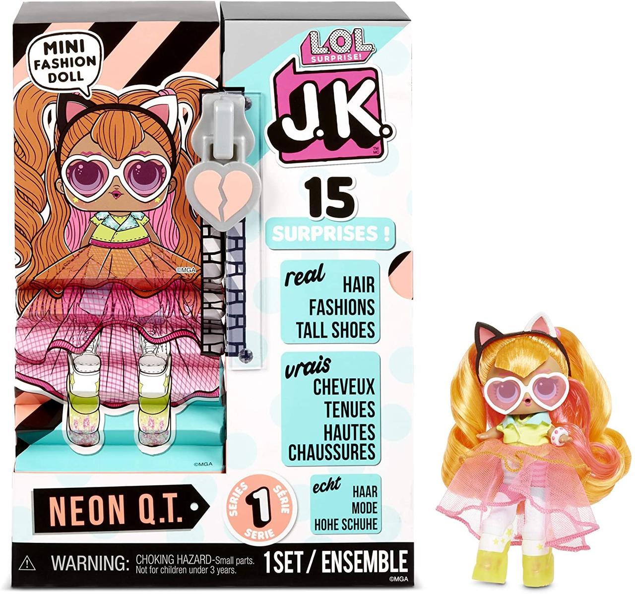 """Игровой набор с куклой L.O.L. Surprise! серии J.K."""" - Леди-Неон"""""""