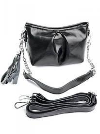 Жіноча сумка 7081 чорна