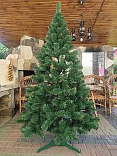 Елка искусственная 0.55м зеленая новогодняя ель праздничная пвх, фото 2