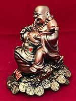 Гіпсова статуетка для будинку Хотей на жабі, бронза