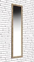 Зеркало в раме на стену в салон офис для дома в прихожую настенное Small cube Gold 45х167 см золото
