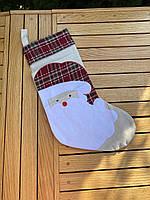 Великий новорічний мішок для подарунків, фото 3