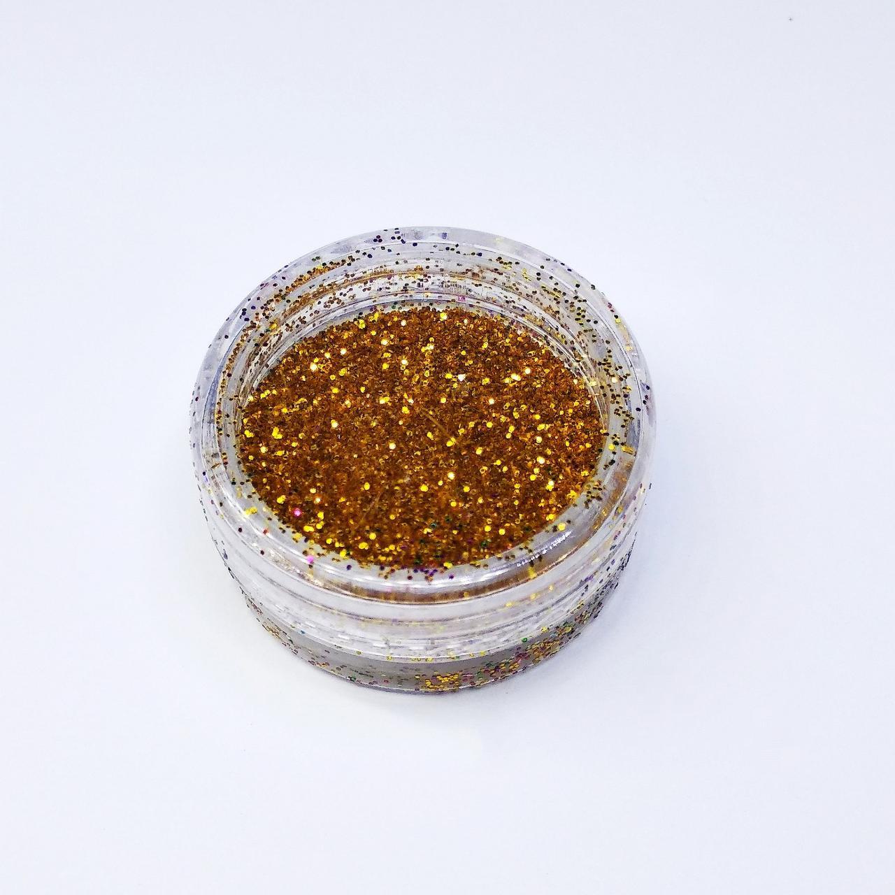 Блестки-песок золото