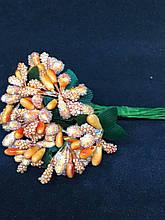 №112  Добавка ягодок 12пучков по 12шт (144веточки)