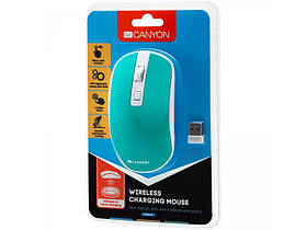 Миша бездротова Canyon CNS-CMSW18A Aquamarine USB, фото 3