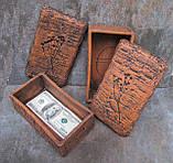 Керамічна шкатулка під паперові гроші, фото 2