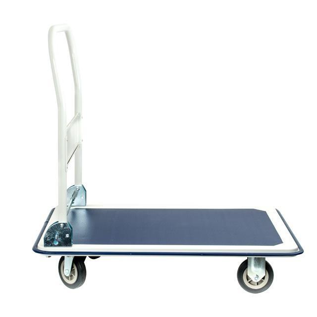 Візок ручна чотириколісна до 250 кг, 910*610*870, колеса 125 мм INTERTOOL LT-9054