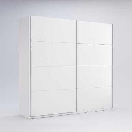 Шкаф-купе Фемели 2.5 Миро-Марк двери глянец белый