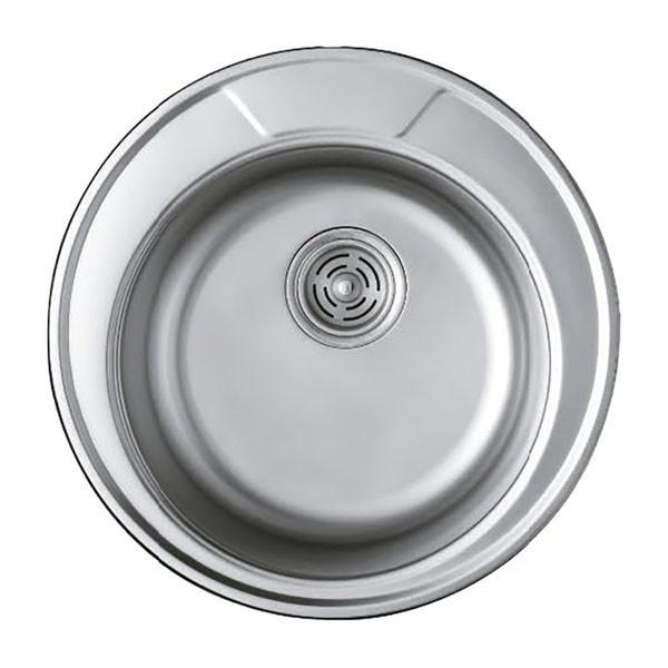 Мойка кухонная HAIBA 490 (satin) (HB0534)
