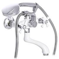 Смеситель для ванны MIXXUS OMEGA 142 WHITE (MI2769)