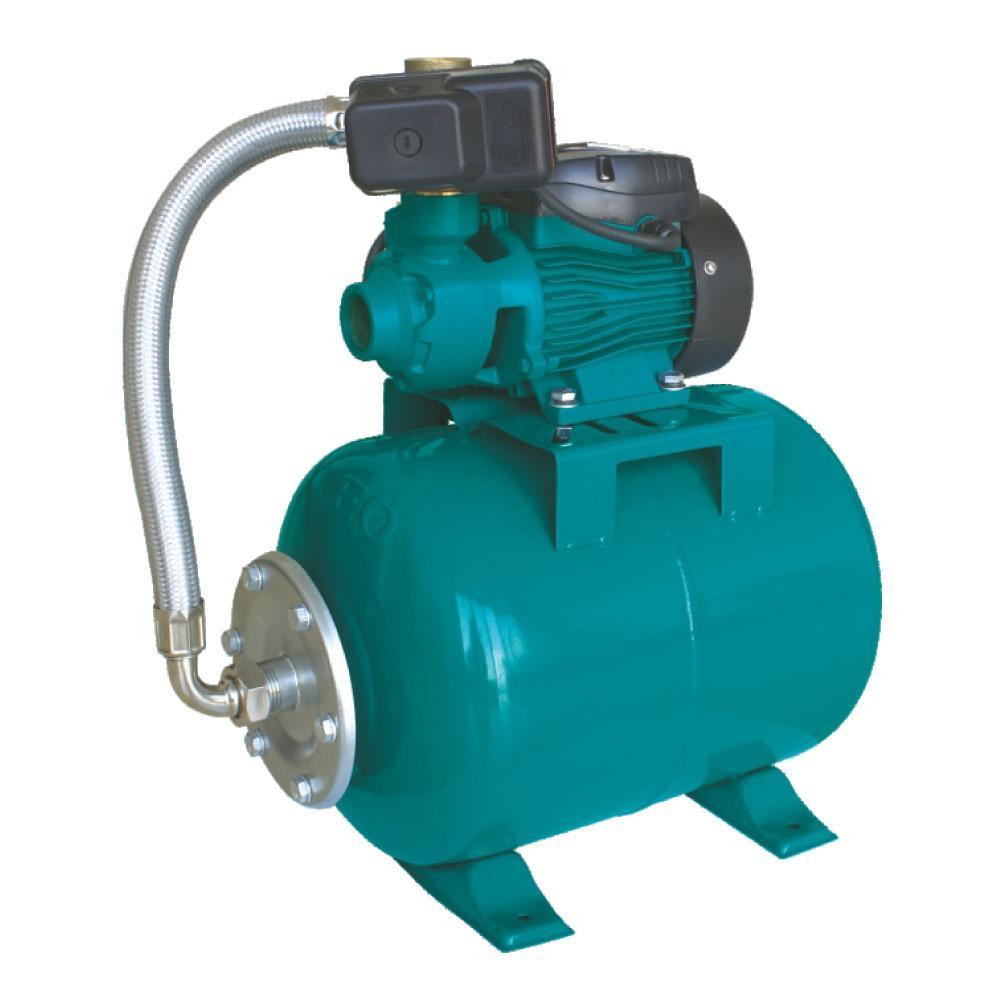 Насосна станція водопостачання 0.6 кВт Hmax 60м Qmax 50 л/хв (вихровий насос) 24л AquaticaLEO (775133/24)