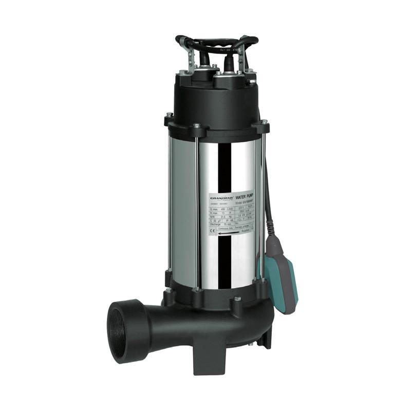 Канализационный насос для стоков с отходами (с поплавк. выкл.) 1800Вт GRANDFAR GV1800KF (GF1099)