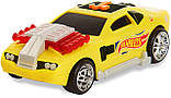 Машинка Хот Вилз свет, звук, движение 18 см. Hot Wheels Poppin Wheelie Cars Hollowback, Оригинал из США, фото 2