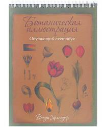 Книга Ботанічна ілюстрація: НАВЧАЛЬНИЙ СКЕТЧБУК. Автор - Венді Холендер (Попурі)