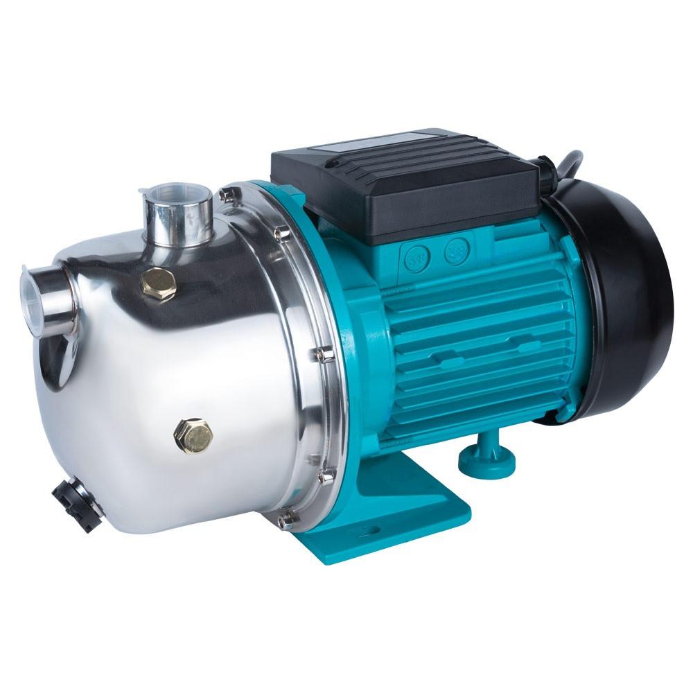 Насос відцентровий самовсмоктуючий 0.75 кВт Hmax 46м Qmax 50л/хв нерж Aquatica (775097)