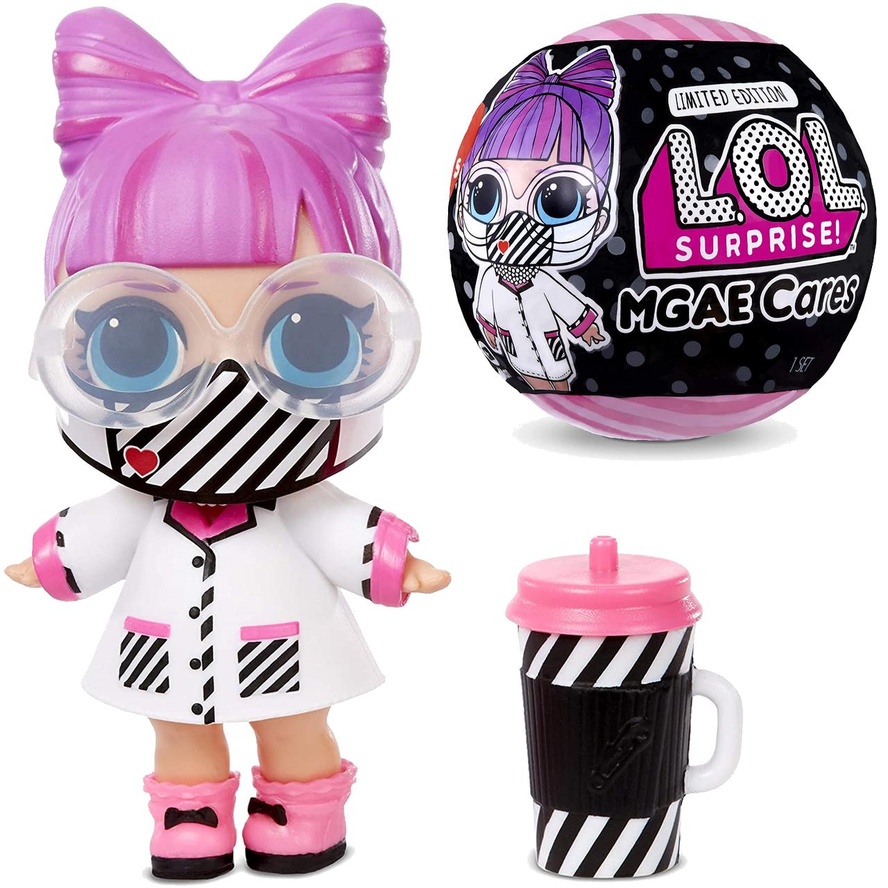 Кукла ЛОЛ Сюрприз с маской Пандемия - LOL Surprise Cares Frontline Hero 572480