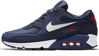 Кроссовки Nike Air Max 90 Essential Blue White AJ1285-403 Синие мужские