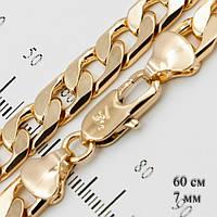 Ланцюжок чоловіча позолота на шию довжина 60 см колір золотий Xuping G-123
