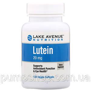 Лютеин Lake Avenue Nutrition Lutein 20 mg 120 капс.