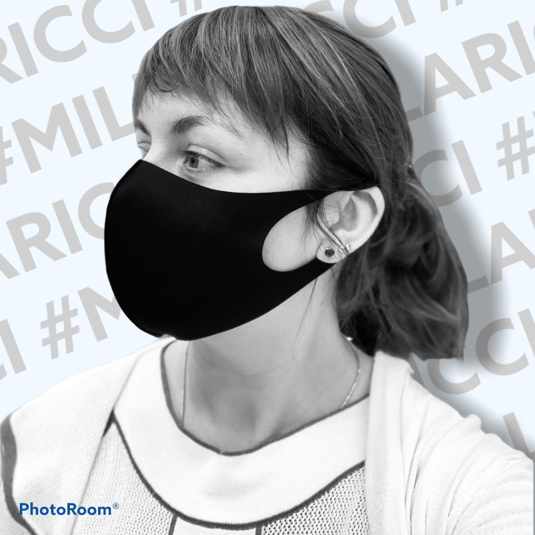 Многоразовая маска питта неопрен Pitta Mask Черная