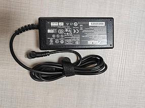 Блок питания адаптер зарядное устройство ASUS 19V, 3.42A, 65W, 5.5*2.5мм, L-образный разъём, black