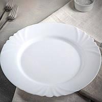 Белая закусочная тарелка Luminarc Cadix 195 мм (Н4129)