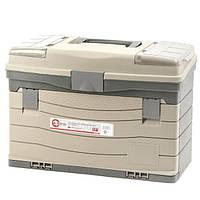 """Багатофункціональний органайзер пластиковий для метизів, 17"""", 435x235x300 мм INTERTOOL BX-4017"""