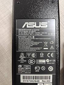Блок питания для ноутбука ASUS 19V, 4.74A, 90W, 5.5*2.5мм, 3 hole, L-образный разъём, black
