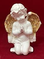 Фігурка ангела Георгій, золото, 16 см