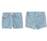 Childrens Place Джинсовые шорты с вышивкой для девочки 4 года (104 см)
