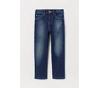 HM Джинсы синего цвета для мальчика 3-4 года (104 см)