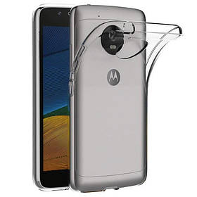 TPU чохол Epic Transparent 1,0mm для Motorola Moto G5