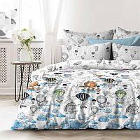 Комплект постельного белья кроватка Воздушные шары (поплин)