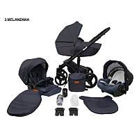 Детская универсальная коляска 2 в 1 Mikrus Comodo 3