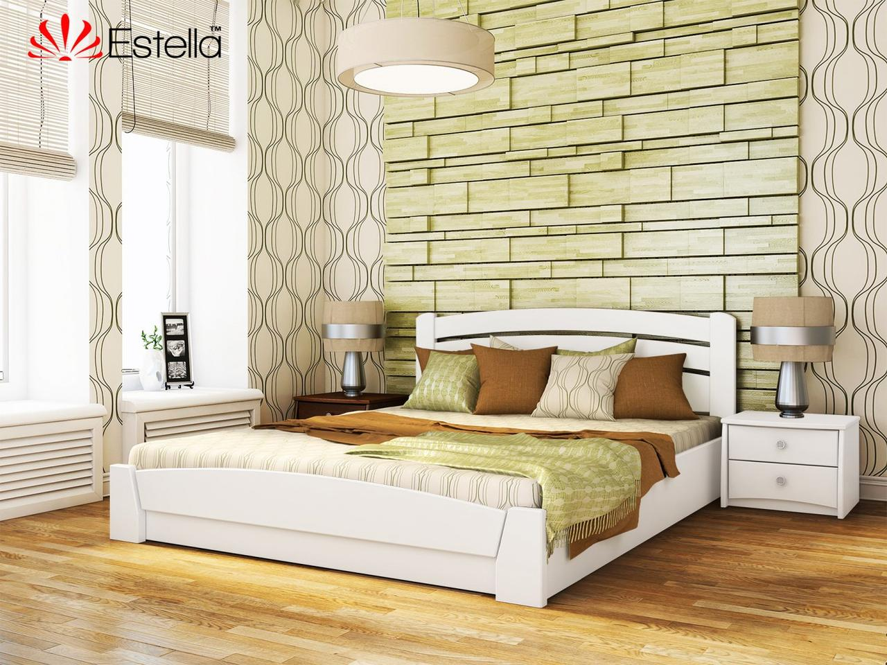 Дерев'яне ліжко Селена Аури Естелла