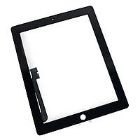 Сенсорное стекло (Touch screen) iPad 3 / iPad 4 черное, фото 1