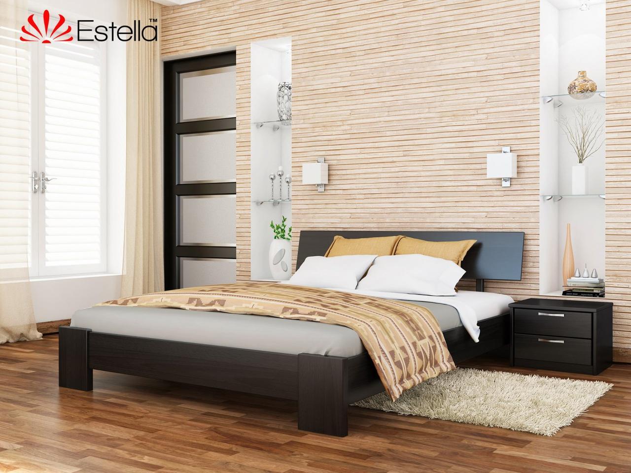 Дерев'яне ліжко Титан Естелла