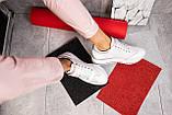 Женские кроссовки кожаные весна/осень белые Calo Pachini 4505/20-98, фото 9