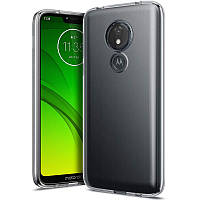 TPU чехол Epic Transparent 1,0mm для Motorola Moto G7 Power